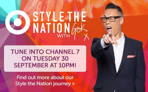 RT @morningshowon7: Target Style the Nation on TONIGHT at 10:00pm with the legendary @therealgokwan @targetaus #targetstylethenation http:/…