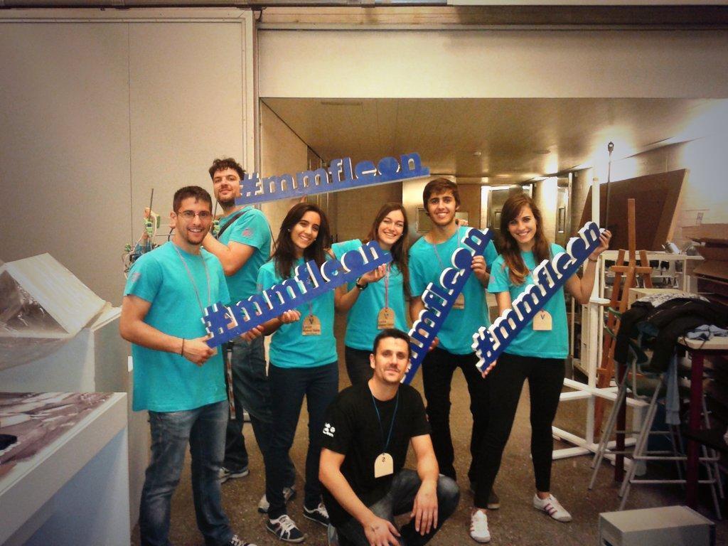 Gracias a nuestros voluntarios,sin ellos no hubiera sido posible nuestra #MakerFaire #mmfleon #leonesp http://t.co/D44InG3a9W