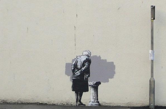 New Banksy spotted in Folkestone, UK http://t.co/U9GIcXtbCA