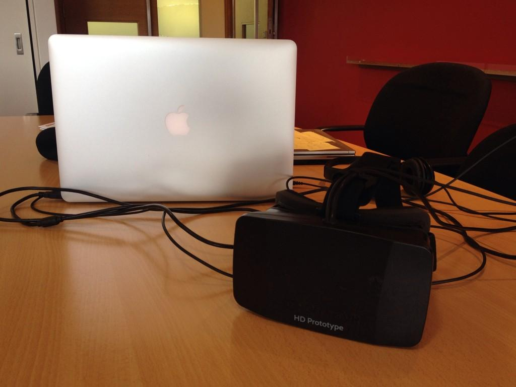 and it was loads of fun! RT @LCBrennan: Q: Does @SMG_London have an @Oculus Rift #SMGBeyondDigital? A: Yes. Yes we do http://t.co/F3GfAwQ7Lk