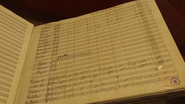 Una joyita | partitura de El cortejo de La Irene, de Chapí | #zarzuela1814 | @BNE_museo @BNE_biblioteca http://t.co/ZYeMgOOusC