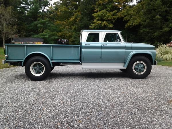 david on twitter rt cvork08 ultra rare 1965 chevy c60 4 door pickup for sale awesome. Black Bedroom Furniture Sets. Home Design Ideas