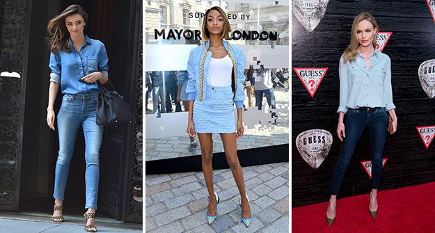 Will you try fall's denim on denim look? We know we will: http://t.co/15h3Lr2Bos http://t.co/2wqjj0tYHO