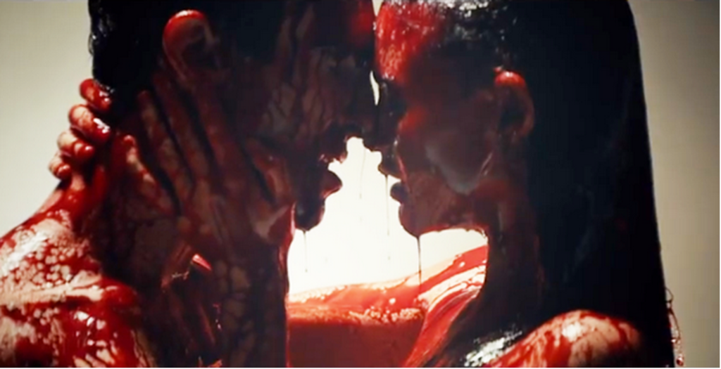 Adam Levine's new music video is VERY CREEPY. Like blood everywhere, creepy. WATCH: http://t.co/vptTgv3g9B http://t.co/Wwi6ujpBVM