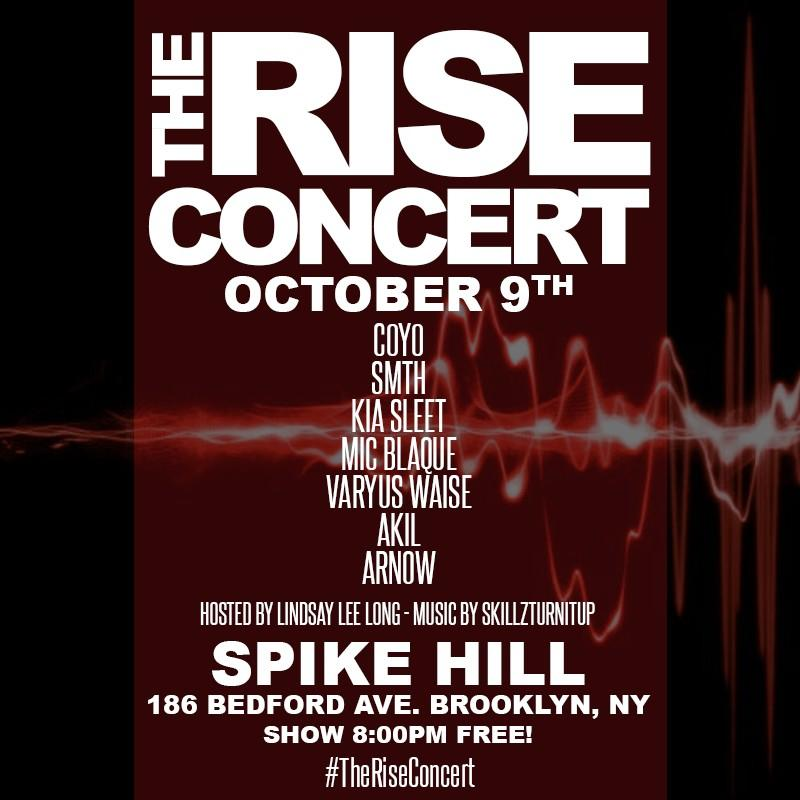 THE RISE CONCERT AT SPIKE HILL 10/2014