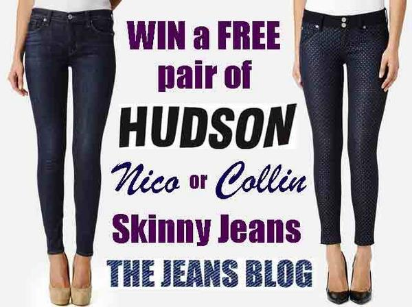 #CONTEST RT & Follow @TheJeansBlog & @HudsonJeans to WIN a FREE pair HUDSON Jeans! http://t.co/hWilrhKqVD #TJBxHudson http://t.co/PSNbHfA4Cg
