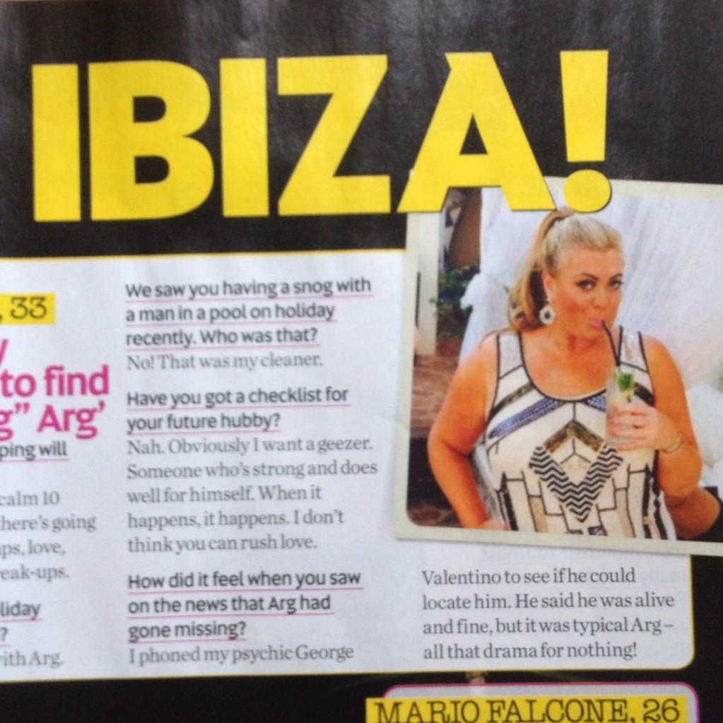 RT @GemCCollection: We spy the beautiful @missgemcollins in none other than DALLAS featured in this weeks @NowMag! #StealHerStyle http://t.…