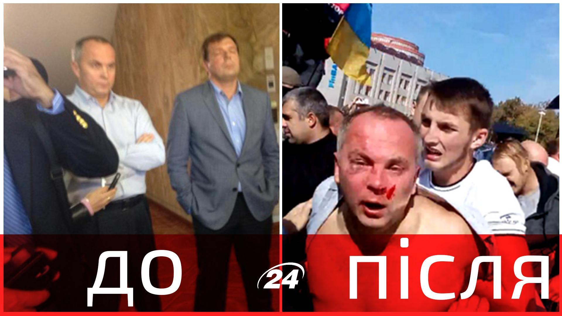 Идентифицированы 14 человек, причастных к избиению Шуфрича. Их разыскивают, - МВД - Цензор.НЕТ 1002