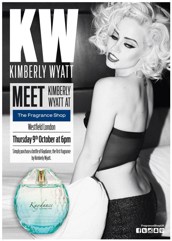 The countdown is on until my debut fragrance launch for #kaydance! Drop in and get a signed bottle x http://t.co/kiAGj7o2Kx