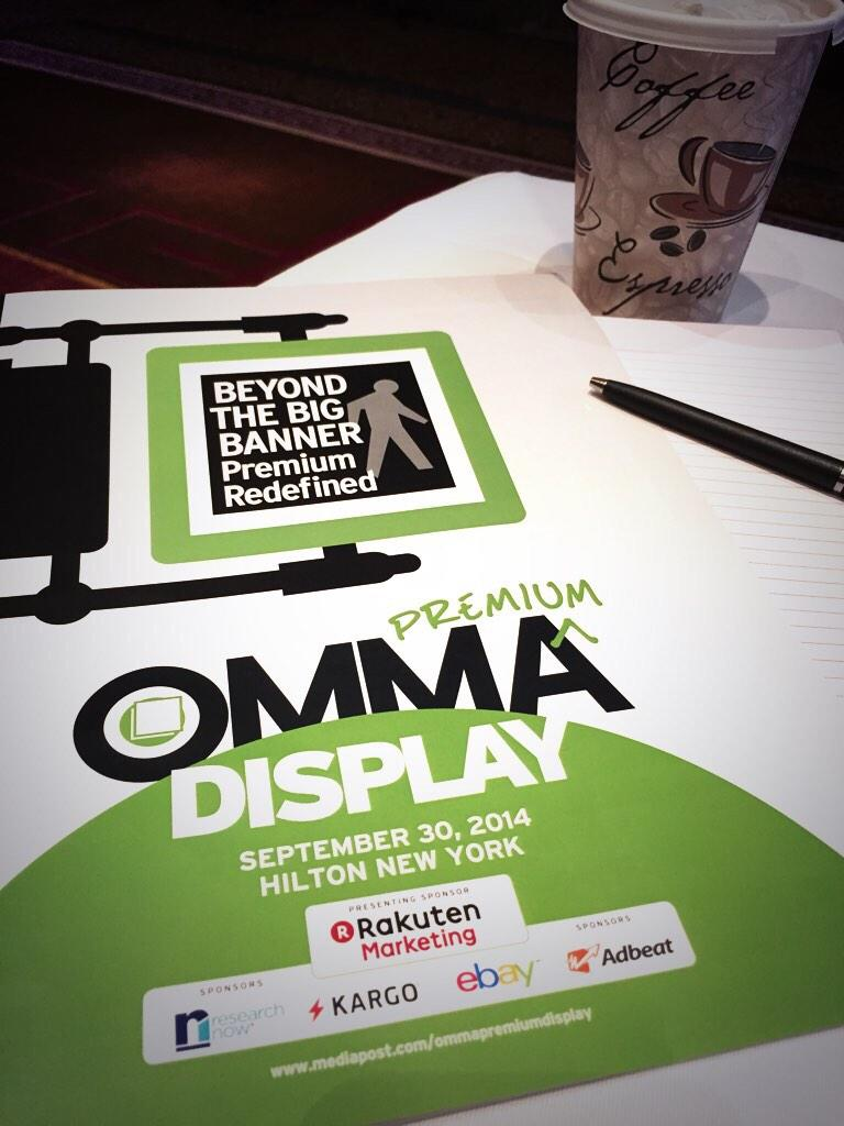 Getting ready for @tuckerda to take the stage at #MPOMMA! @advertisingweek @MediaPost http://t.co/q4kScrv0mJ