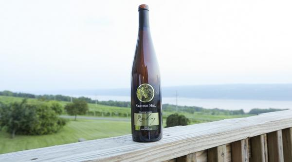 Our last #FLXRiesling of day is @SwedishHillWine '13 Riesling, pears & tropical fruit aromas.. http://t.co/xu6E1pMVrp http://t.co/tViHsD6C22