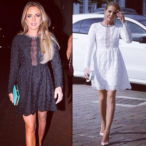 GORGEOUS dresses @BellaSorella251   Lace Embroidered Dress  Available in Black or White  Buy> http://t.co/KxqhPVIzxE http://t.co/R8oKRzhrwZ