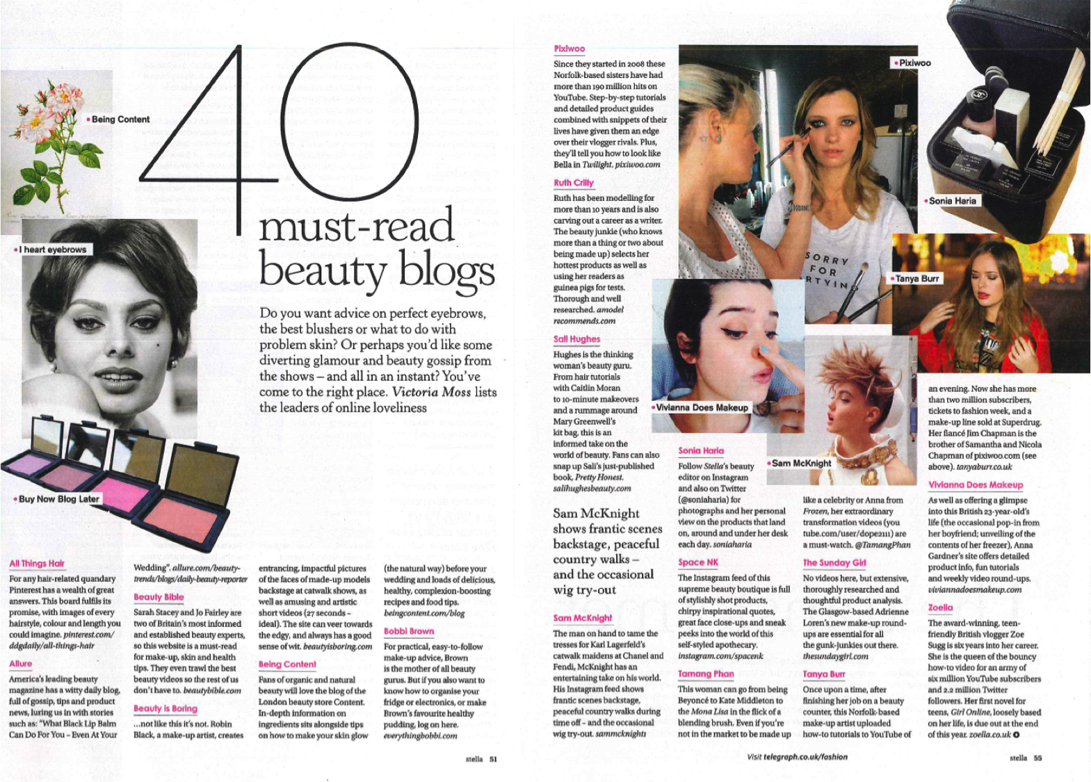 RT @Space_NK: Listed as one of @StellaMagazine's must-read beauty blogs, follow us on Instagram > http://t.co/zdkr8mADg4 #Bbloggers http://…