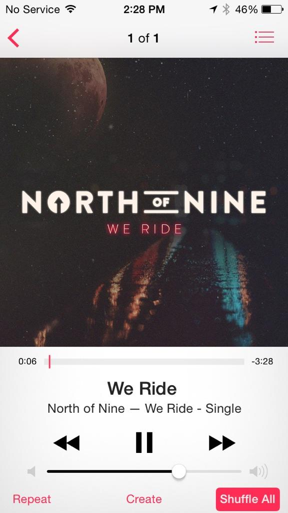 Broooooo killin it @jacksonguthy @northofnine's new single #WeRide is out on itunes! http://t.co/XuIbPsIBLr http://t.co/a9LHiI9Kp0