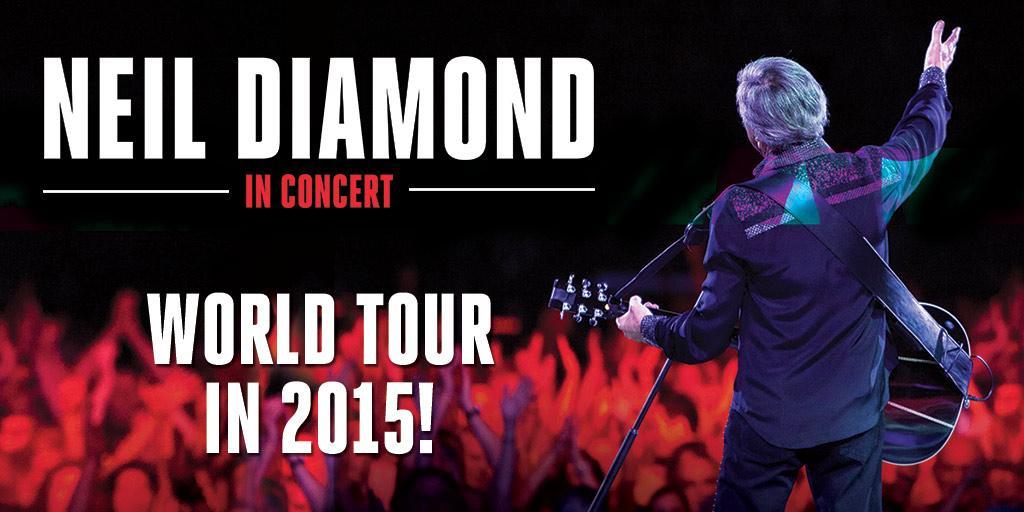 Neil Diamond Previous Tour Dates