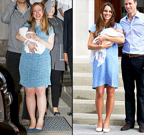 Did American royal Chelsea Clinton copy real royal Kate Middleton? http://t.co/KxtF2RLoSO http://t.co/nAOZdO9skG