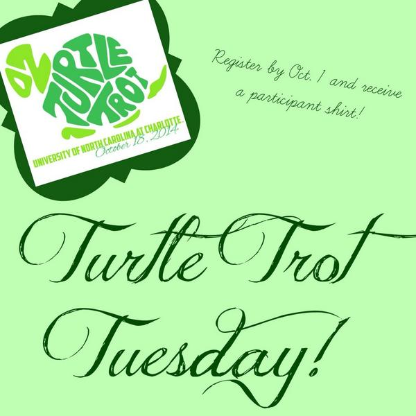 Register for Turtle Trot because who doesn't love an inexpensive 5K that donates the money to a great cause?! ☺️