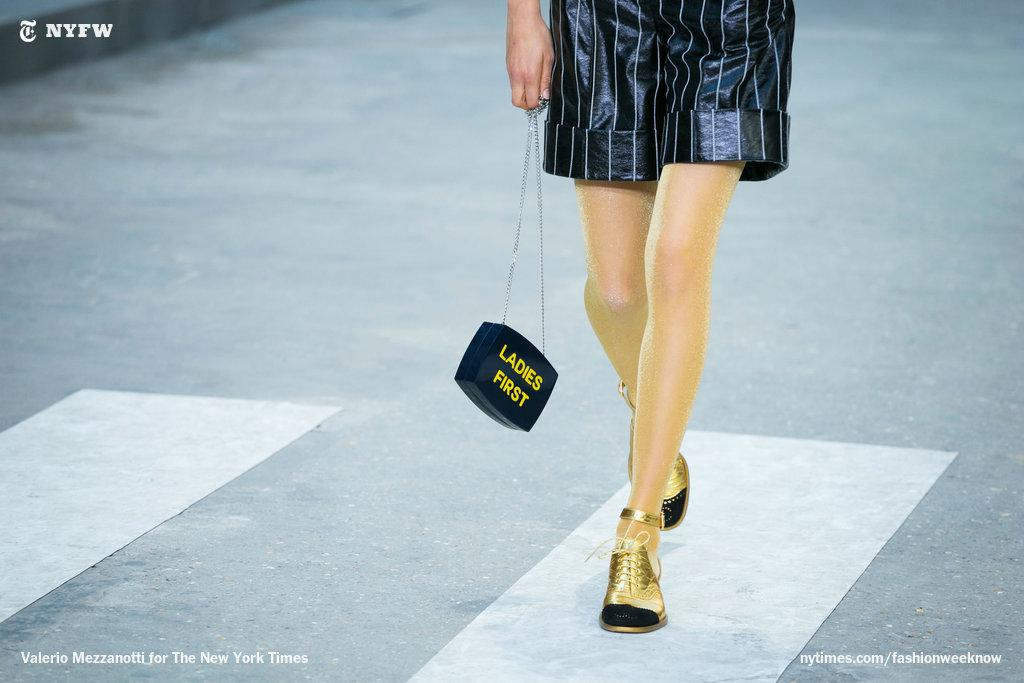 """""""Ladies First"""" at @Chanel, a pro-women stance or simply a reminder about etiquette? http://t.co/yqlKgcKRGe http://t.co/STQMf2vE3g"""