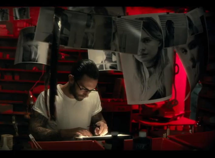 Adam Levine stalks his wife in terrifying, graphic new Maroon 5 video: http://t.co/GINYQHyTIT http://t.co/75VR4geXW4