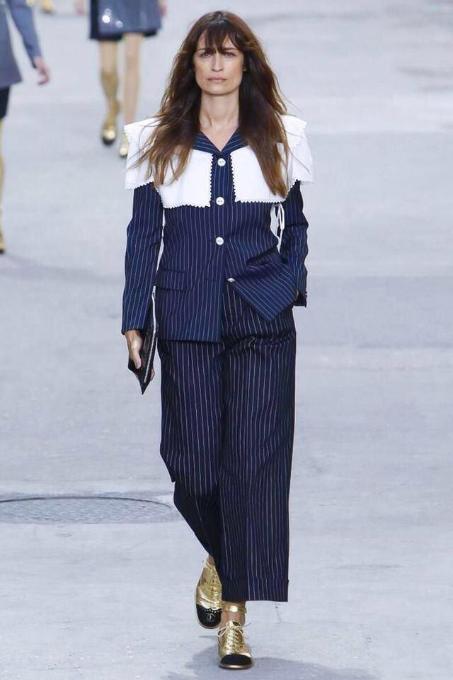 My outfit at the @CHANEL show today #boulevardchanel http://t.co/dxfTI4GV5s