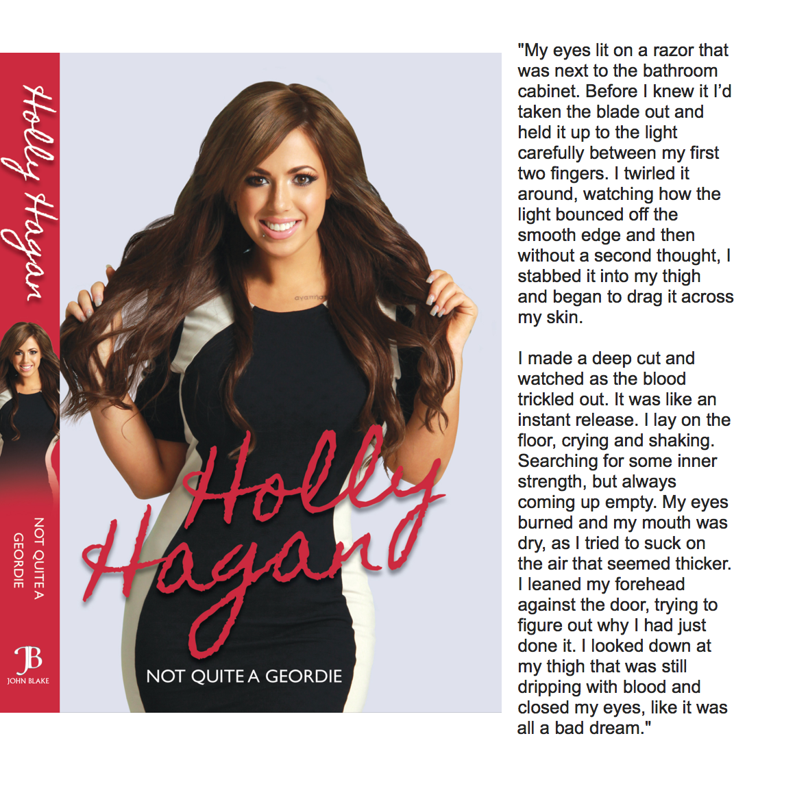 RT @Marniegshore: Reading @HollyGShore book & Im proper crying man the beginning bit is so sad. Can't wait to see what happens http://t.co/…