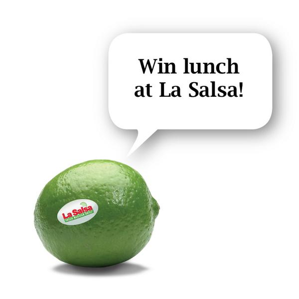 #LaSalsaLunch Want to win lunch from La Salsa? Go here to enter and learn how: http://t.co/Tlb0z1dUhq #contest http://t.co/LUgJR38h9p