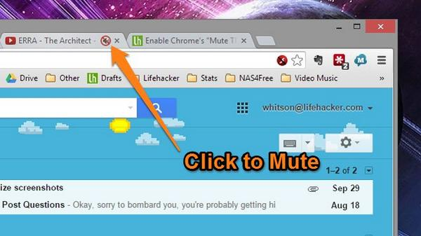 """""""@lifehacker: If you're rocking the Chrome dev channel, you can now mute a tab's audio with a simple click: http://t.co/diNbHwHRtQ"""" @stewart"""