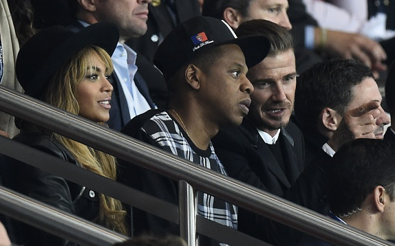 Jay Z, Beyonce, and Beckham