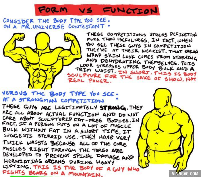 "Form Over Function 9gag on twitter: ""man: form vs function http://t.co/wstqd4am2v"