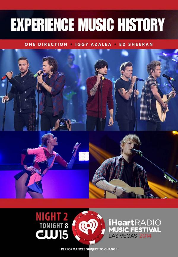Tonight, more great performances & never-before-seen backstage footage #iHeartRadio Music Fest comes to your TV! http://t.co/oiw65qod18
