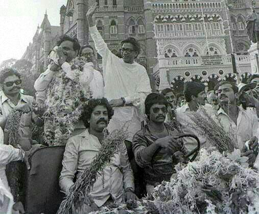 "NaMoChaiParty on Twitter: ""Rare picture of Balasaheb with ..."