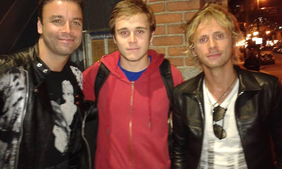 Chris, Dom, Muse