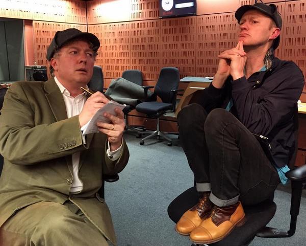 If you missed here's fantastic @MarkGatiss on @BBCRadio3 w/ @DrMatthewSweet on #SherlockHolmes http://t.co/3MqdCOmURZ http://t.co/Tm7ogBjpKC