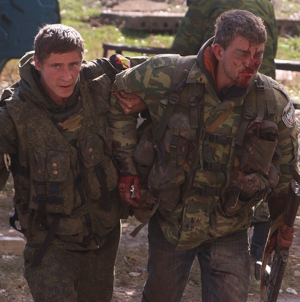 """""""Трехсотых"""" нет. Было два, но они умерли по ходу"""", - боевики """"Оплота"""" расстреляли """"скорую"""" возле поселка Широкое - Цензор.НЕТ 9869"""