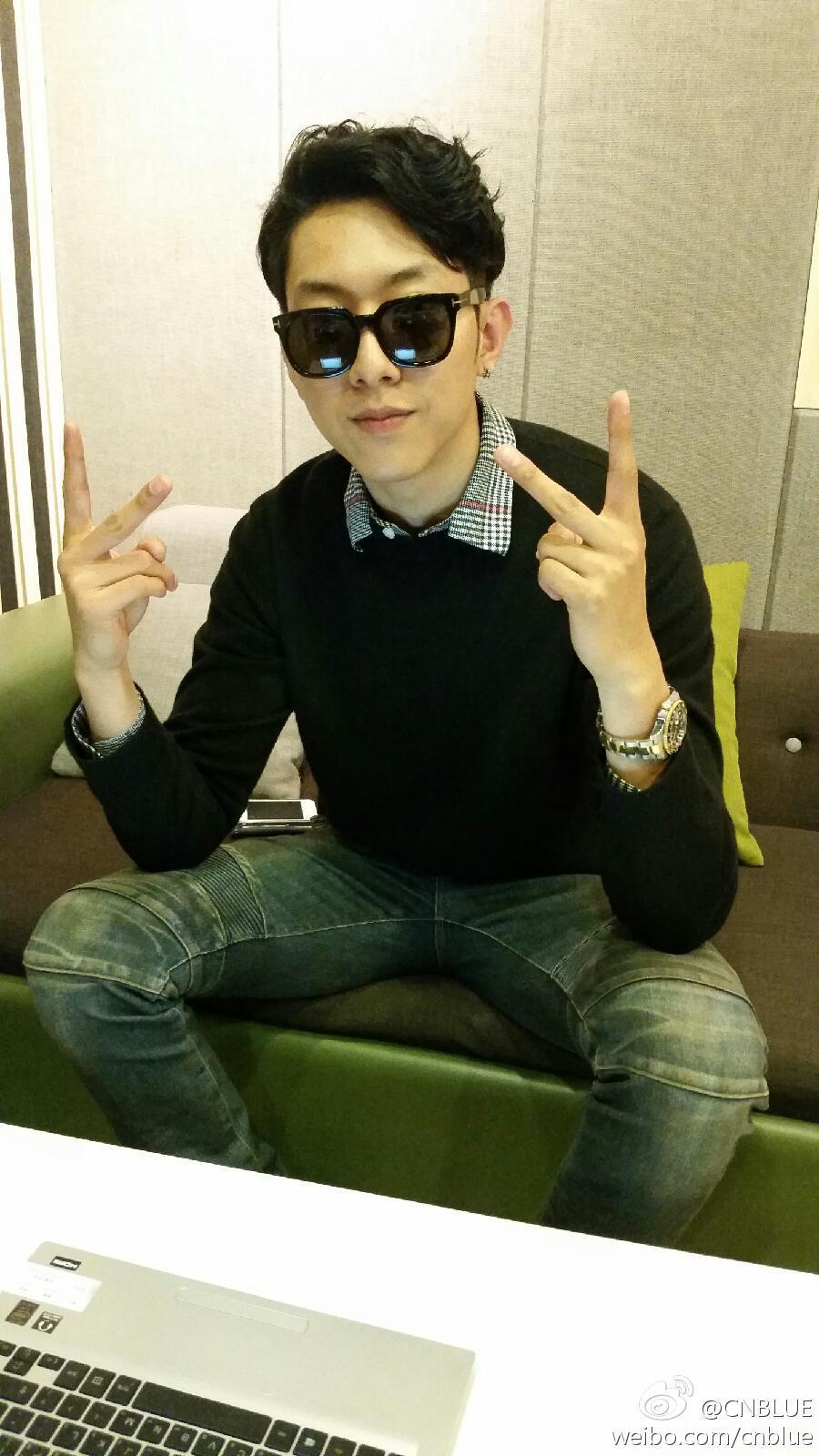CN Blue - Lee Jungshin Weibo�da Hayranlar� �le Sohbet Etti /// 13.10.2014