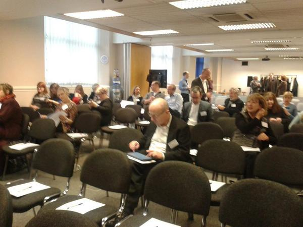 @OER_Hub @mweller Haha! All good here... getting busy! #oepsforum14 :-) http://t.co/wUuLwiQeWN