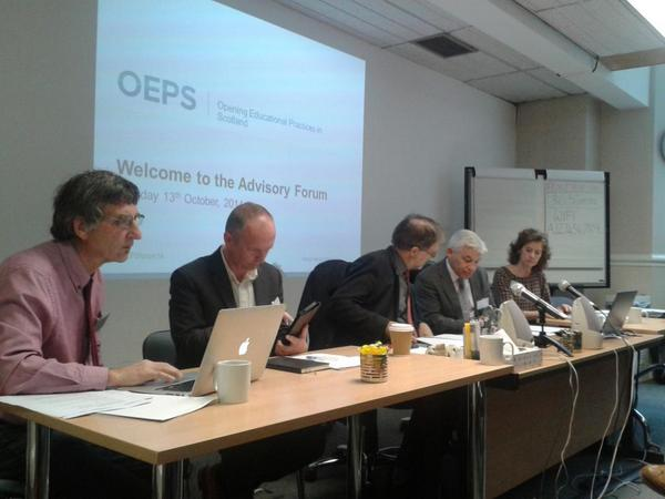 And #oepsforum14 is go! http://t.co/jpeM0wuvyI