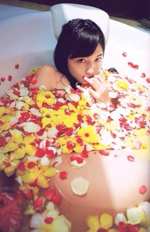 お風呂の川口春奈