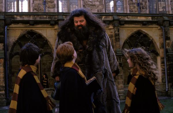 ... Hagrid.