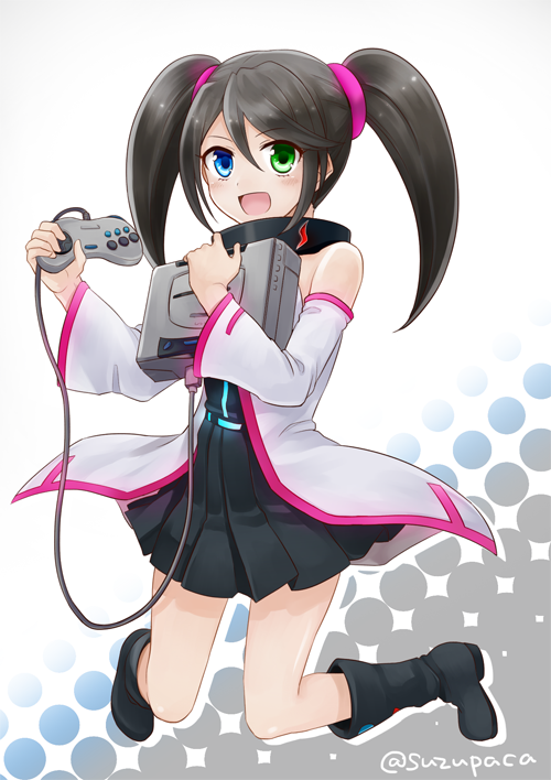 SEGA Saturn Hard Girl by Suzupaca