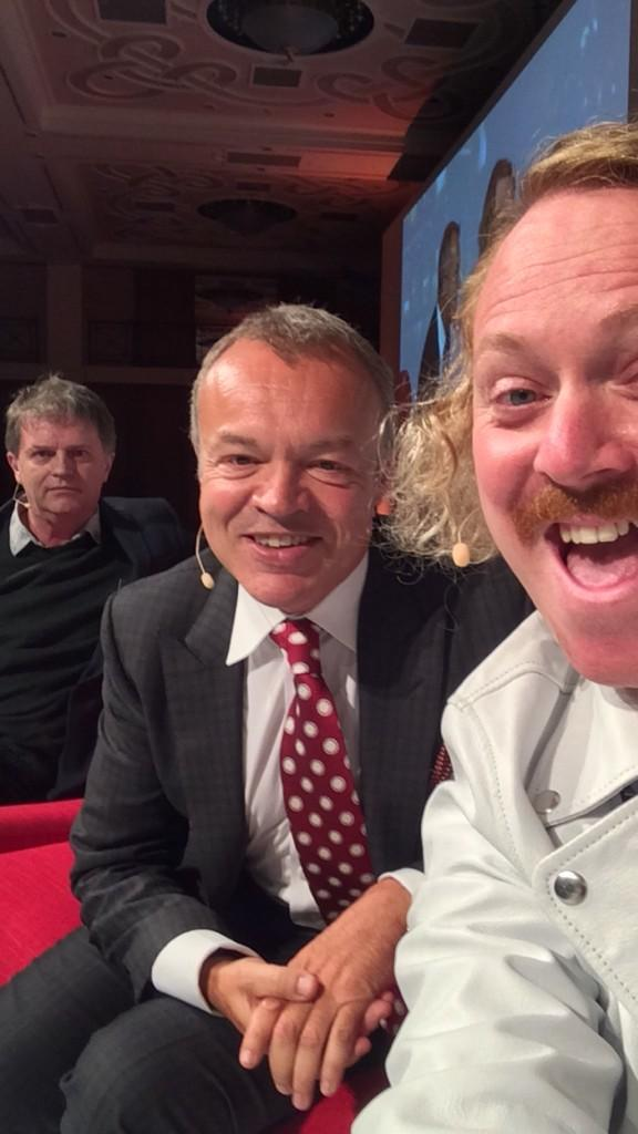 Lovely to see you @grahnort you looked very smart http://t.co/fT4WuXcu2m