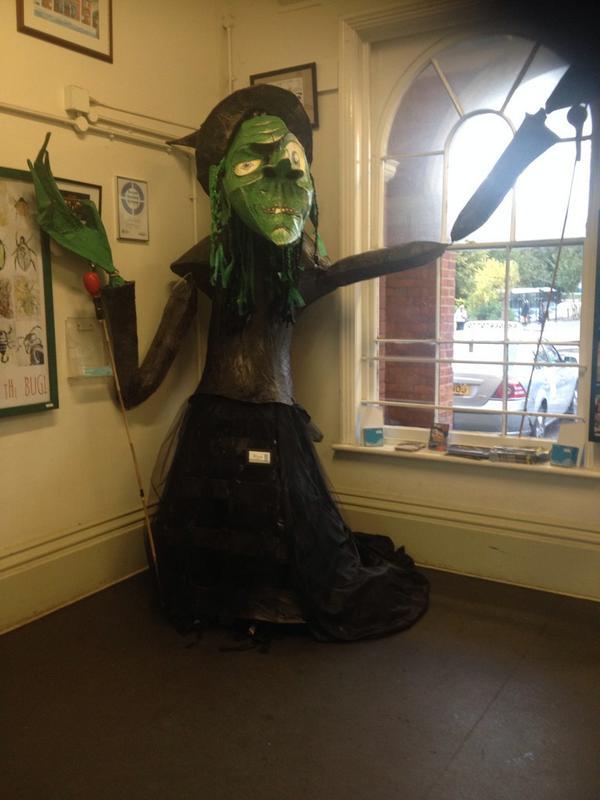 "Chloe Adams on Twitter: ""Rye Studio Schools witch at Rye train station ..."