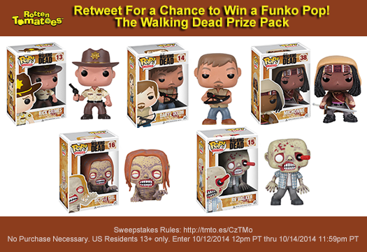 Retweet 4 a chance 2 win #TheWalkingDead @OriginalFunko Prize Pack #RTTWD #Sweepstakes Rules:  http://t.co/2wmbjykBp4 http://t.co/FH40phTZTd