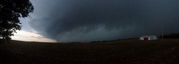 Nice Shot! RT @jeffrey_may: Storm sw of Princeton IN at 6pm #tristatewx #inwx http://t.co/MLE2aqMoJA