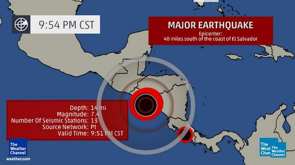 More on the major #earthquake that just struck Central America: http://t.co/w8uxySr2Vo http://t.co/zkuoLV1f9V