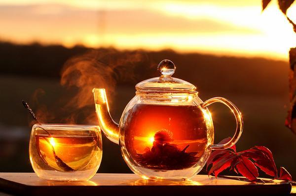Картинки по запросу чай с медом и вареньем
