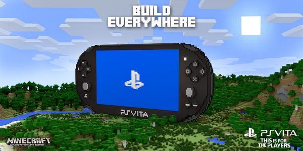 PlayStation UK On Twitter Minecraft Arrives On PlayStation Vita - Minecraft spiele fur ps vita