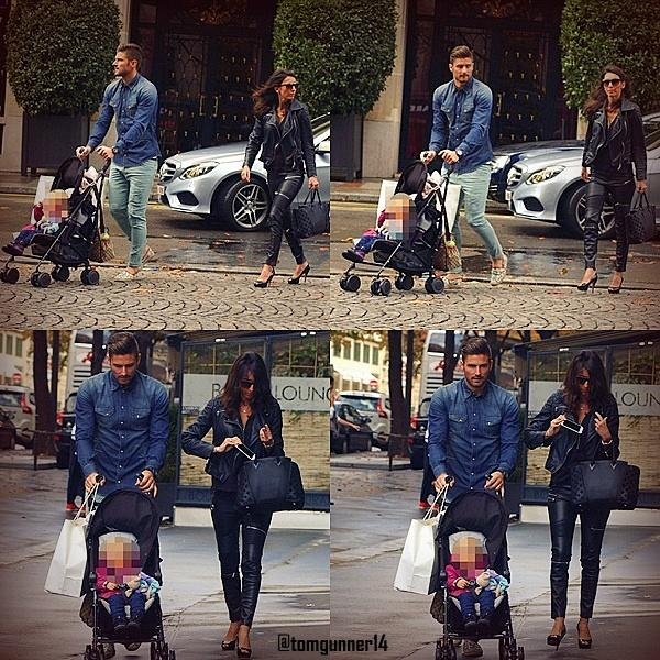 Tomgunner14 Olivier Giroud Walks Without Crutches With His Wife And Daughter Arsenal Pictwitter Hec3U44reIRicciG87 DeziMarkou
