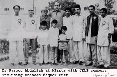 Farooq Abdullah And Nehru of Farooq Abdullah