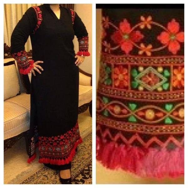 Simple Sindhi Dresses For Girls  X Pakistani Fashion Clothes Dresses